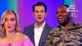 """You're S******g in Your Bed?!"" - Lethal Bizzle SHOCKS Jimmy Carr! 
