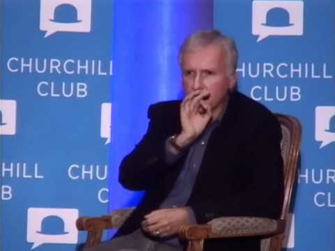 Eric Schmidt in conversation with James Cameron