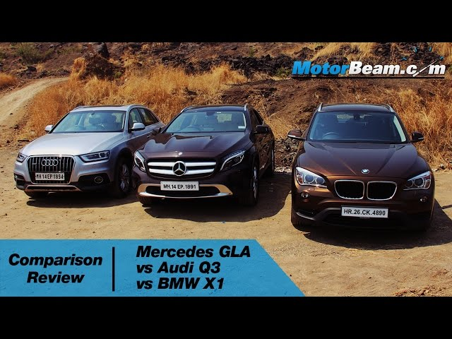 Mercedes GLA vs Audi Q3 vs BMW X1 - Comparison Review ...