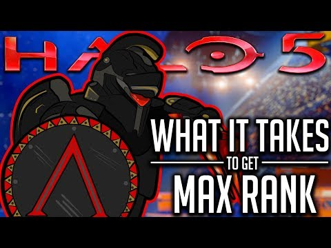 What It Takes To Get Max Rank in Halo 5 Guardians