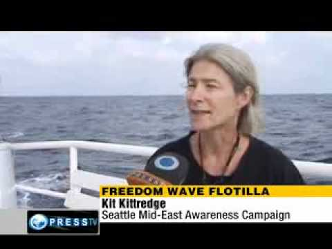 Gaza flotilla passengers positive about their mission - PressTV