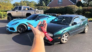 Something I Never Told You... The REAL Reason I Bought a Rare Volkswagen Corrado + HUGE NEWS!!!
