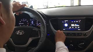 Hyundai Accent 2018-2019 (bản thường) màu vàng cát