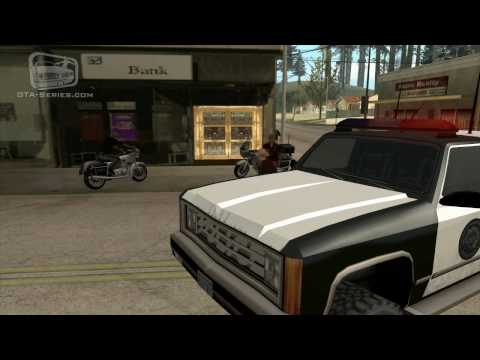 GTA San Andreas Mission #34 - Made In Heaven / Small Town Bank (HD)
