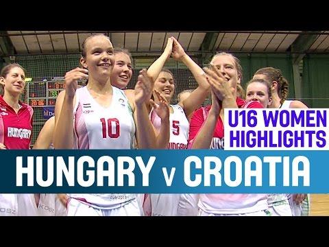 Hungary v Croatia- Highlights – 1st Round -2014 U16 European Championship Women