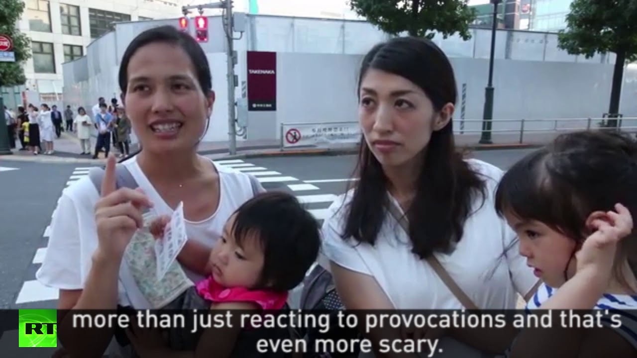 """It felt like war was approaching"" Tokyo residents react to missile"