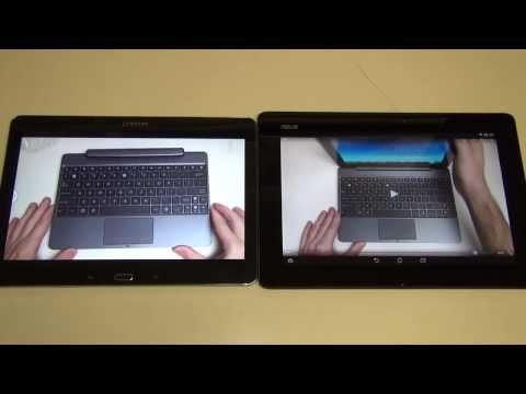 Samsung Galaxy Note 10.1 2014 Edition vs Asus Transformer Pad TF701