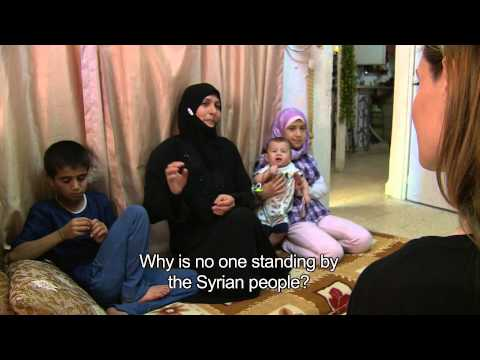 Jordan: Angelina Jolie in conversation with Syrian refugees