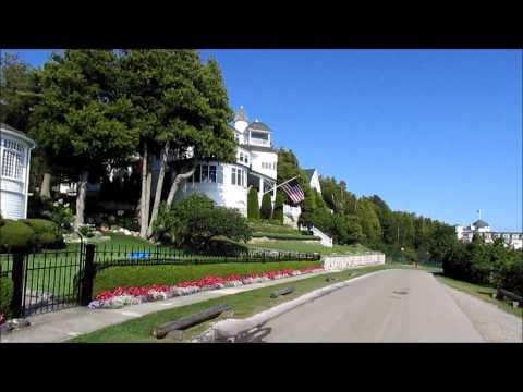 Mackinac Island and the Grand Hotel