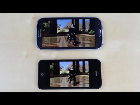 iPhone 5 vs Galaxy S3 Speed Test!