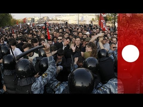 Moscow protests mark anniversary of violent anti-Putin rally