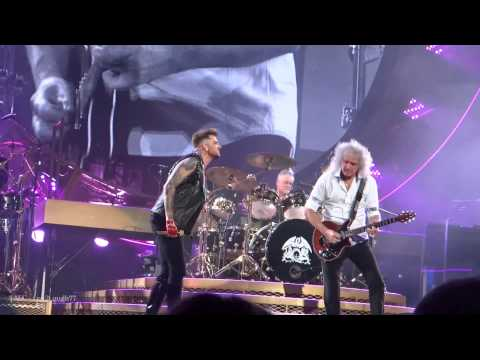Talc Hd - Queen + Adam Lambert - Crazy Little Thing Called Love - Izod Center - Nj video