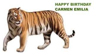 Carmen Emilia   Animals & Animales - Happy Birthday