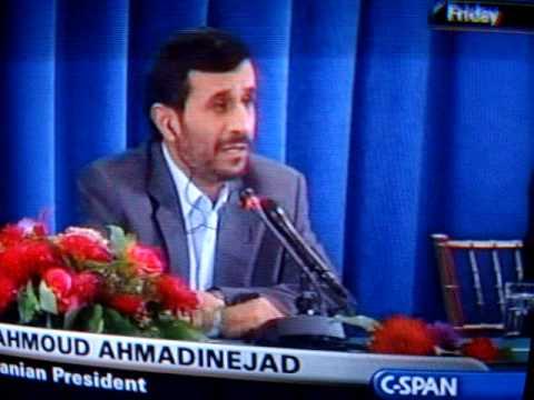 Iran President Mahmoud Ahmadinejad Response To Obama, Gordon, and Sarkozy G20 Nuclear Speech