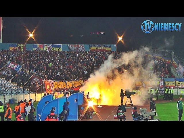 HOOLIGANS Slovan Bratislava - Sparta Praha UEFA Europa League (23.10.2014 r.)