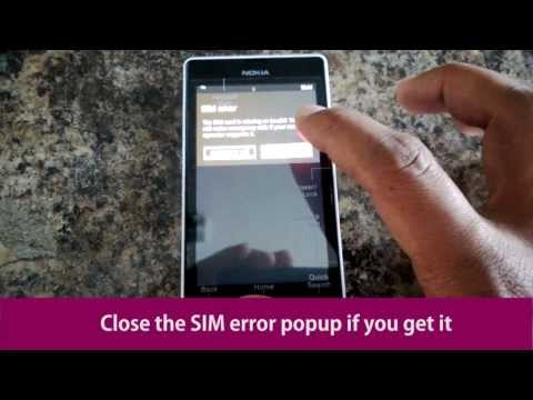 How to Unlock a Nokia Lumia 521 from T-Mobile with an Unlock Code from
