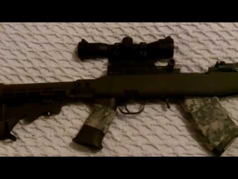 SKS Receiver Cover Scope Mount and Leapers Scope