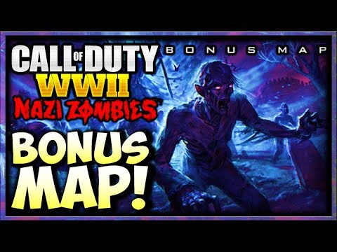 "HOW TO GET *BONUS* WW2 ZOMBIES MAP? (Call of Duty WW2 Zombies Bonus Map / WW2 Second Map ""PROLOGUE"")"