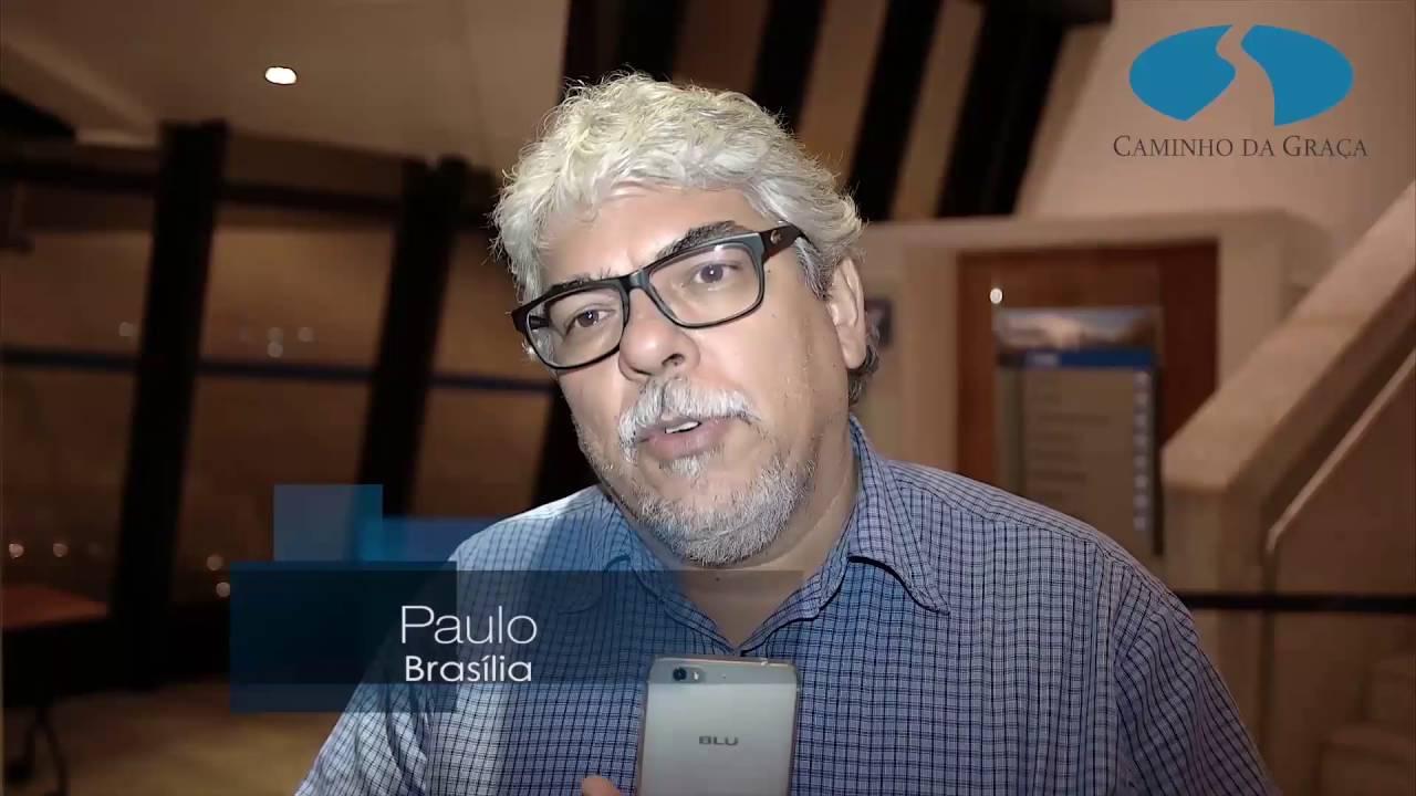 Boletim: Encontros com Caio Fábio em Brasília - Domingos 19h. - Depoimento do Paulo