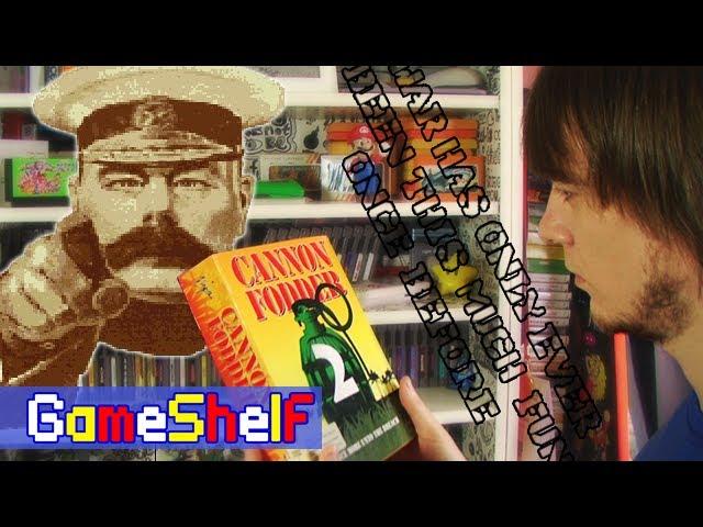 GameShelf #25 - Cannon Fodder 2. Как взломать метро фигуркой Nintendo?