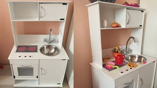 DIY Детская кухня своими руками / Children's kitchen