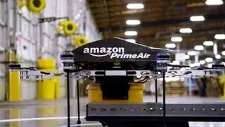 CNET Update - Questions hover over Amazons drone plans