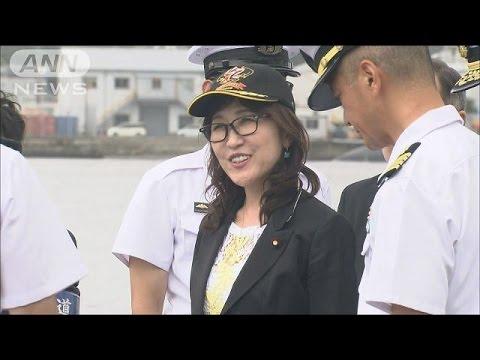 東京新聞・望月衣塑子がヒステリーで発狂し菅官房長... 稲田防衛大臣、護衛艦「いずも」や潜水艦を