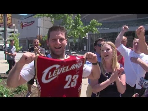 Noon: LeBron Returns to Cleveland
