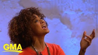Syndee Winters performs 'Shadowland,' from 'The Lion King' | GMA Digital
