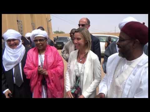 Niger visit marks Mogherini's first Sub-Saharan Africa trip