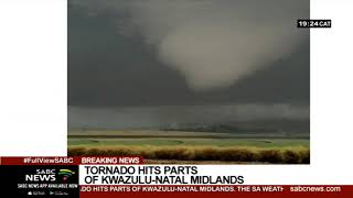 Tornado hits parts of KZN Midlands: Weather Service
