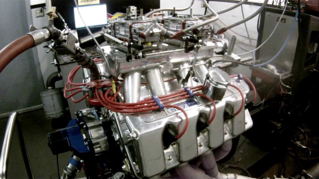 Jon Kaase 557 Hemi Ford Dyno Pull 4500 7000 Rpm Youtube