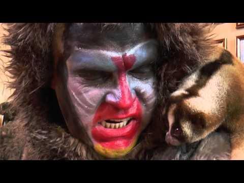 Клип с новым годом обезьяны