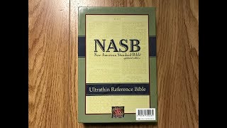 NASB Ultrathin Bible Review