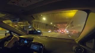 Giratoire , entrés/sorties Auto route changement de file .Permis de conduire