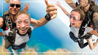 Twins TRY Skydiving in Hawaii! Would You Do It?