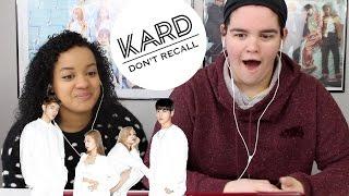 Download Lagu KARD DON'T RECALL REACTION Gratis STAFABAND