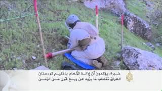 كردستان العراق أحد أكبر حقول الألغام بالعالم