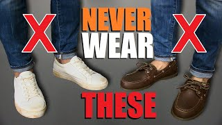 7 Shoes Men Should NEVER Wear!