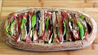 ÜBERRASCHUNGSBROT - Pain Surprise | #Picknick #Vatertag