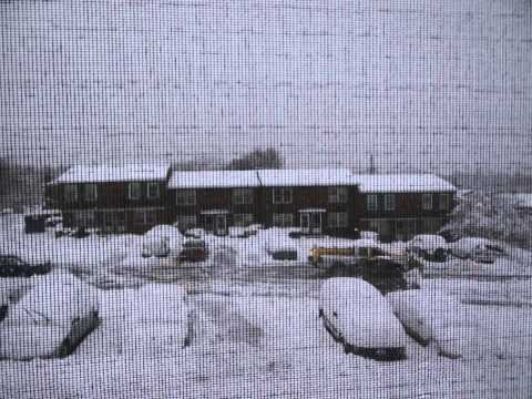 Super Winter Snow Storm Saturn Pounding NorthEast Time Lapse