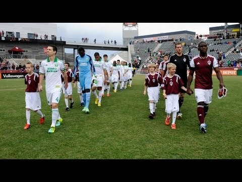 HIGHLIGHTS: Colorado Rapids vs Portland Timbers | March 30, 2013