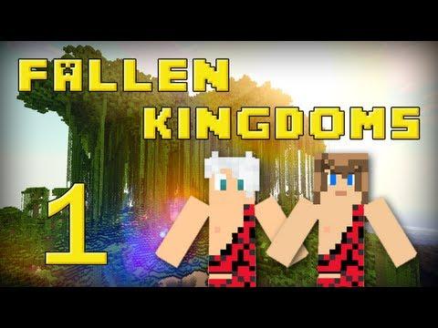 fallen kingdoms 2 : frigiel & ectalite | jour 1 - minecraft