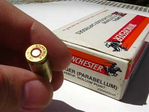 AT1 - 9mm Luger - Winchester Silvertip 115 Gr JHP