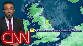 Weatherman nails town