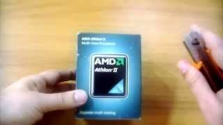 AMD Athlon II 270, Multi core Processor, UNBOXING, ITA