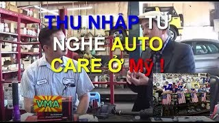 Thu nhập một tháng của thợ sửa xe ở Mỹ là bao nhiêu ?