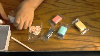 how to make candy from popin cookin