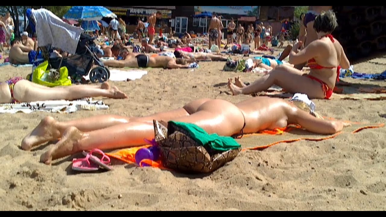 Порно на нутдистском пляже