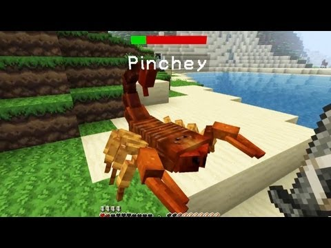 Squid's Got Mods! Mo' Creatures — My Pet Pinchey [3]